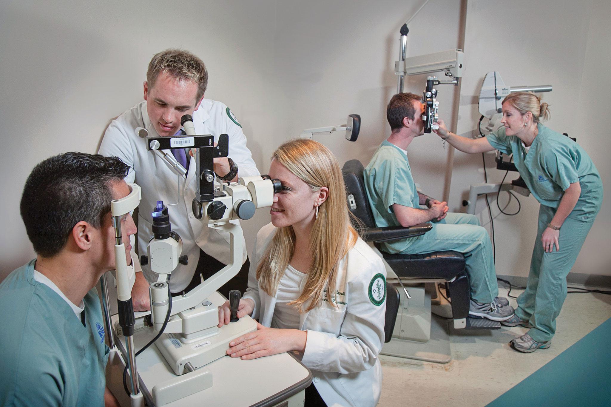 eye care institute header